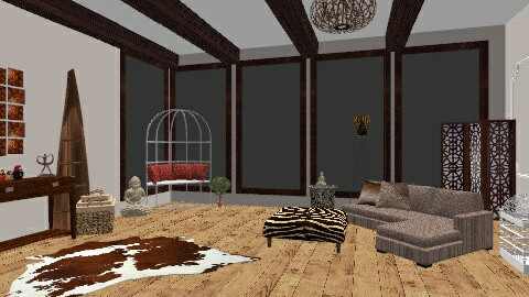 living room  - Rustic - by bethany81