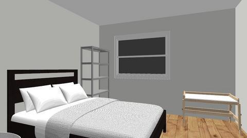 BACK ROOM - Bedroom - by Lauren Zacher