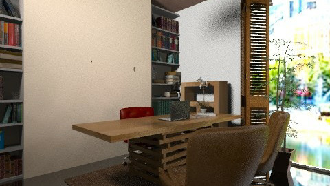 polka Office3 - Vintage - Office - by javakimmy7