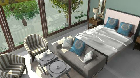 guest room 1 ici block b6 - Country - Bedroom - by mehar