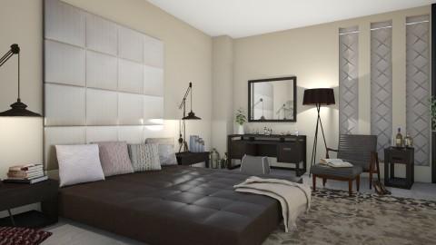 M_Tess - Modern - Bedroom - by milyca8