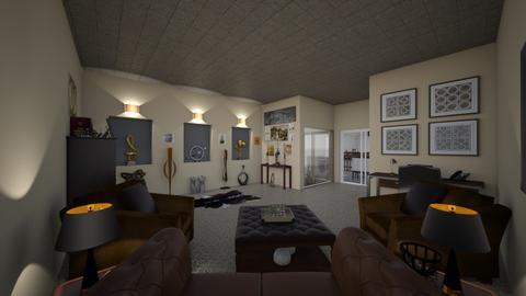 Art Lovers Home - Office - by ElleP