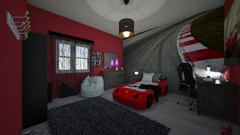 racing car vroom - Bedroom - by MSK