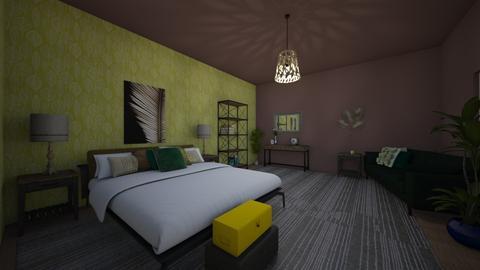 bedroom - by AdeleNur