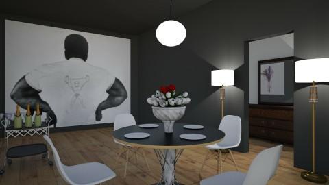 Small Dining Room - by Eleni Mav