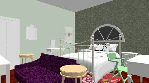 princess - Vintage - Bedroom - by Jordan Anderson