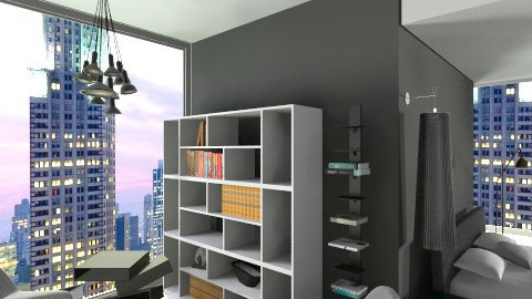 mini side left - Minimal - Bedroom - by Boccafella