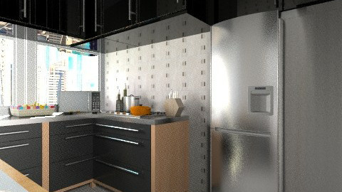 apt sp kitchen  - Classic - Kitchen - by Maria_Julia