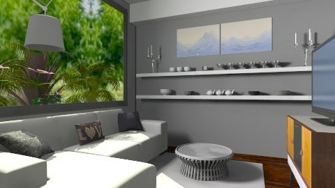 small living room  - Modern - Living room - by bethcot