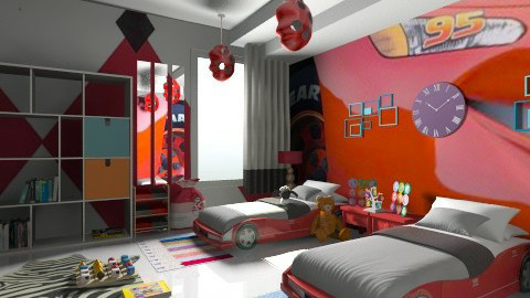 cars room - by khayeagena29