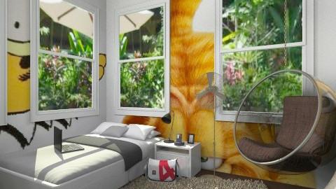 garfields room - Bedroom - by ypramestika