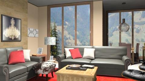 Divine Decor - Rustic - Living room - by sahfs