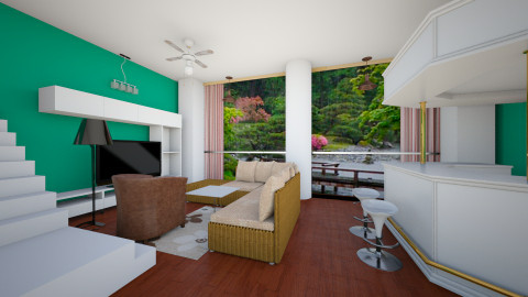 design 10 - Modern - Living room - by maya