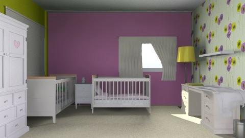 Ftr Babies bedroom - Bedroom - by yellowsubmarine