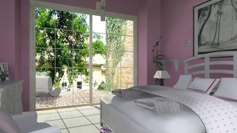 White3 - Vintage - Bedroom - by milyca8