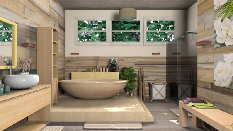 Wdbath_kittifarkas_print - Country - Bathroom - by TV Renders