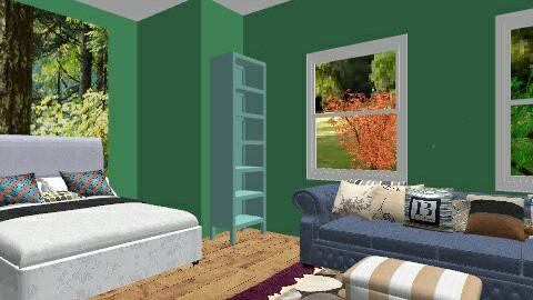 garden view - Vintage - Living room - by jazzmineherzig