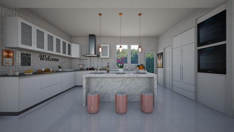 Small cabana - Kitchen - by flacazarataca_1