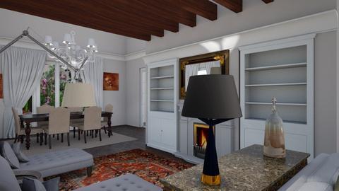 Vale soggiorno - Classic - Living room - by gloria marietti