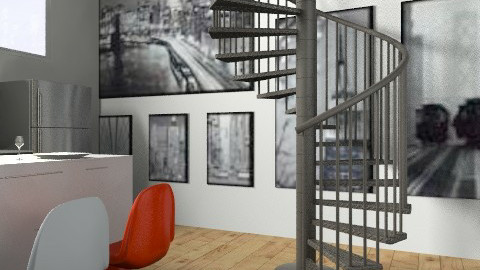 Modern New York Loft - Modern - Living room - by ava234