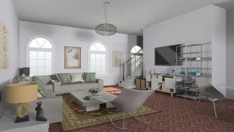sala - Minimal - Living room - by nathaly_cardoso
