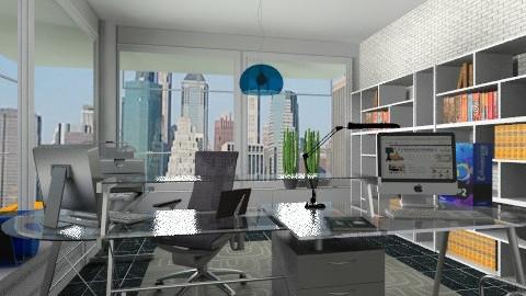 Modern office - Modern - Office - by milyca8