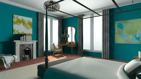 Bed - Modern - Bedroom - by nurumm