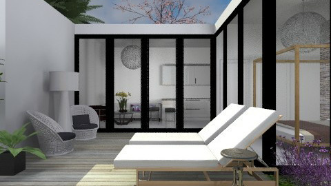 Holiday Home - Modern - Garden - by 3rdfloor
