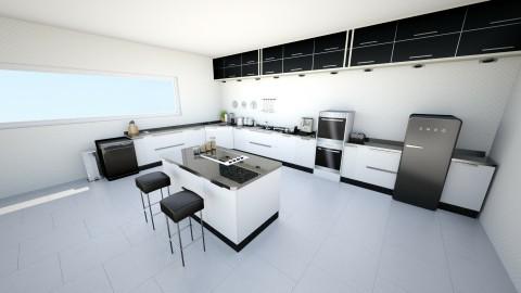 Modern Kitchen - Modern - Kitchen - by blorp