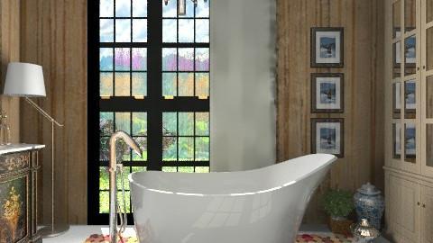 Amalfi Wood Bathroom - Eclectic - Bathroom - by 3rdfloor