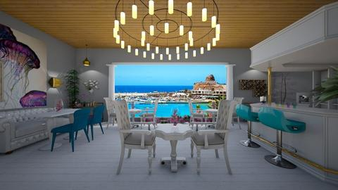 seafood restaurant - by oanav