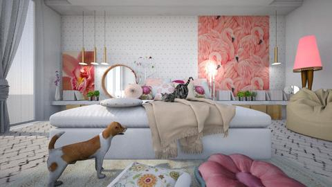 flora - Bedroom - by ana111
