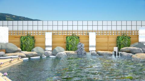 water wall - Garden - by straley123456