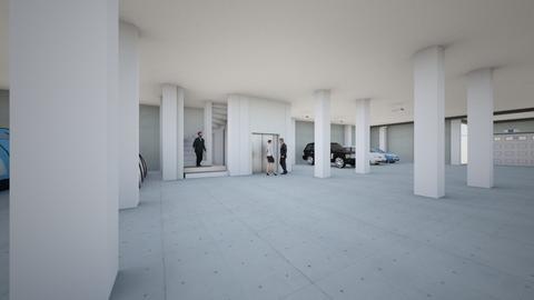 Garage and Storage - Modern - by alonatech_2nd