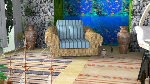 A Room5 - Living room - by manar