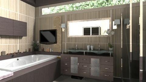 Modern Bath - Modern - Bathroom - by KittiFarkas