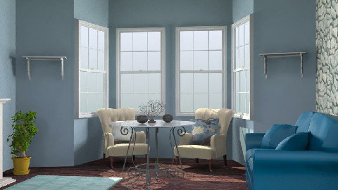 sars - Classic - Living room - by SarahLou