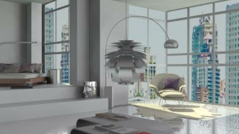 bed_4 - Minimal - Bedroom - by lilica