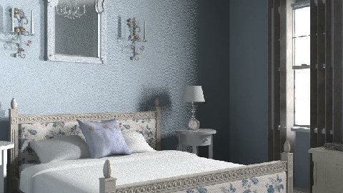 Classic French Country Bedroom - Country - Bedroom - by MegStorey