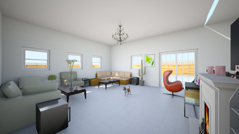 my dream home - Living room - by Austyn Clark