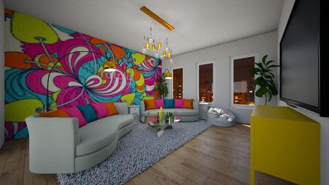 60s Groove - Living room - by Nikki Lipstick