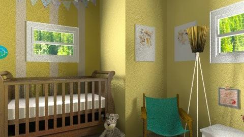 bb  - Rustic - Kids room - by tonirsweet