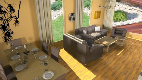 new livigroom - Glamour - Living room - by ivka3131