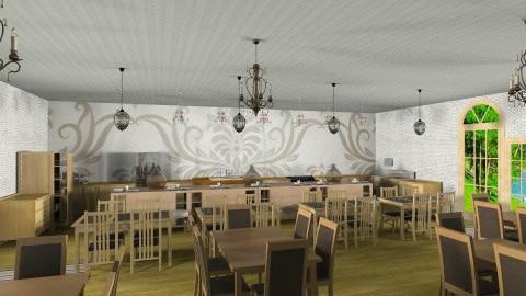 Vintage Restaurant - Vintage - Kitchen - by DiamondJ569