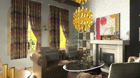 traditional living room - Living room - by KhoKho Yemen