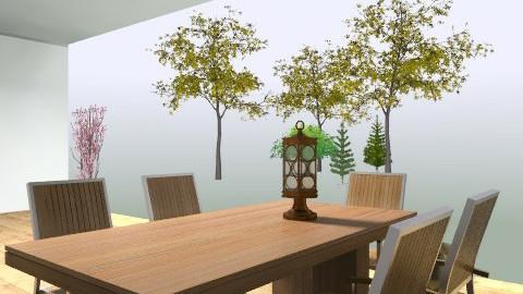 deck - Rustic - Garden - by dsn8012