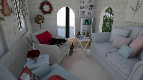 Christmas Living room - Living room - by Mary__