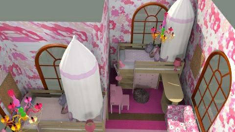 twins  - Glamour - Kids room - by kimberleymcferren