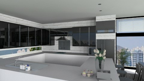 Kitchen005 - Modern - Kitchen - by Ivana J