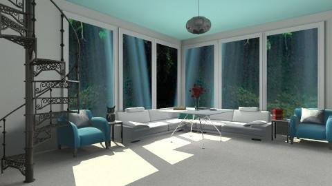 HT - Living room - by xLaskax
